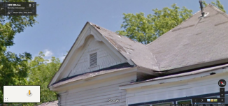 Side Gable, 2922 18th St., Meridian, Google Street View, May 2013