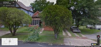 Front Facade, 3012 Davis St., Meridian, Google Street View, May 2013