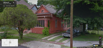 Side Facade, 3012 Davis St., Meridian, Google Street View, May 2013