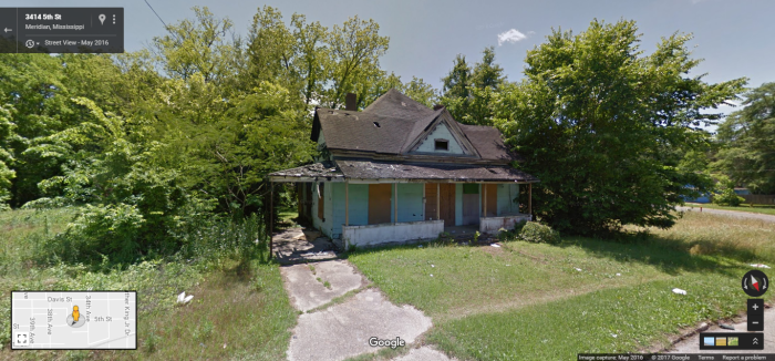 3409 5th St., Meridian, Google Street View, May 2016