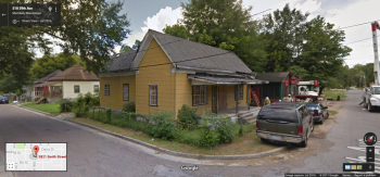 3821 Smith St., Meridian; Google Street View, July 2016