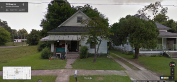 907 Bragg Ave., Meridian, Google Street View, August 2013