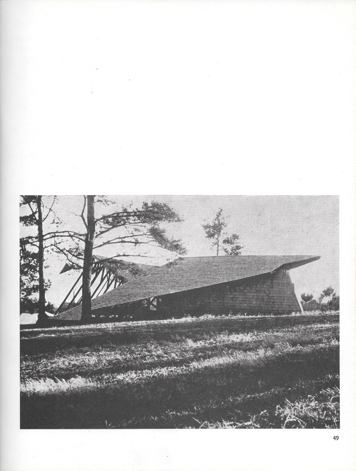Champion Lodge, photograph, page 49 of Small Homes in the New Tradition