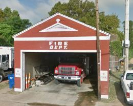 Tchula Fire Department. Front Street Tchula, Holmes County, Miss. June, 2016 from google street view accessed 1-13-17