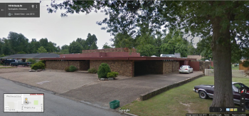 Tyson House, 1515 Circle Drive, Springdale, Arkansas, Google Street View