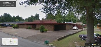 Tyson House, 1515 Circle Drive, Springdale, Arkansas, Google Street View