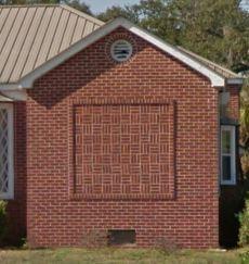 Brick Panel Detail 455 Forest Ave Biloxi Google Street View Nov 2016