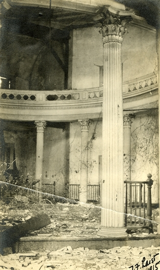 Senate Chamber, 1915, by T.F. Laist. Original photo at Miss. Department of Archives and History.