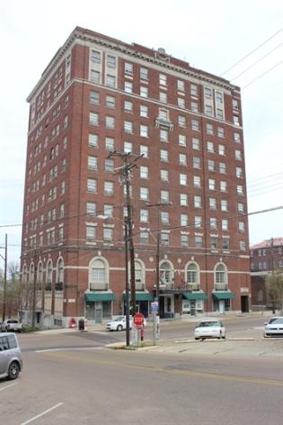 Hotel Vicksburg. Vicksburg Warren County. 2014 from MDAH HRI database accessed 2-1-17