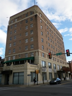 (former)Forrest Hotel Hattiesburg Forrest County, MS 10-12-2012 from MDAH HRI accessed 4-24-17