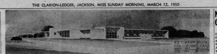 Addition to Pearl elementary Clarion_Ledger_Sun__Mar_12__1950_ copy