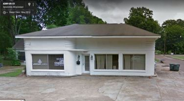former Pan Am Station Senatobia, Mississippi May 2016 Google Streetview