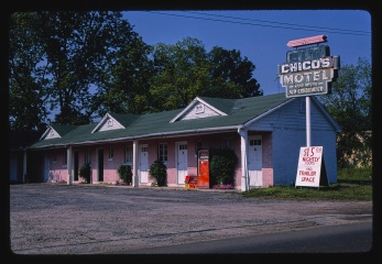 Chico's Motel Forest, MS 1982 Margolies, John, photographer