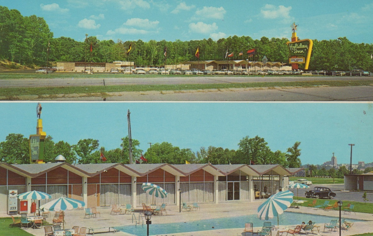Before and After: Holiday Inn, Meridian