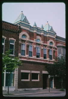 Public building Winona, MS 2003 Margolies, John, photographer