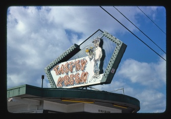 Tasty Kreem ice cream sign, Rt. 49 Gulfport, MS 1979 Margolies, John, photographer
