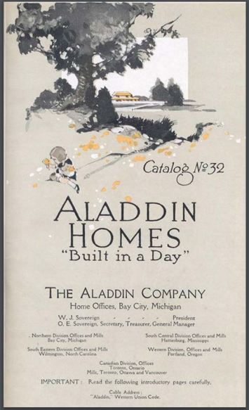 Aladdin Company Catalog Fall 1919 from Clarke Historical Library in Mt. Pleasant, Michigan