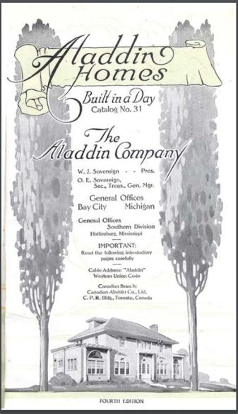 Aladdin Company Catalog Spring 1919 from Clarke Historical Library in Mt. Pleasant, Michigan