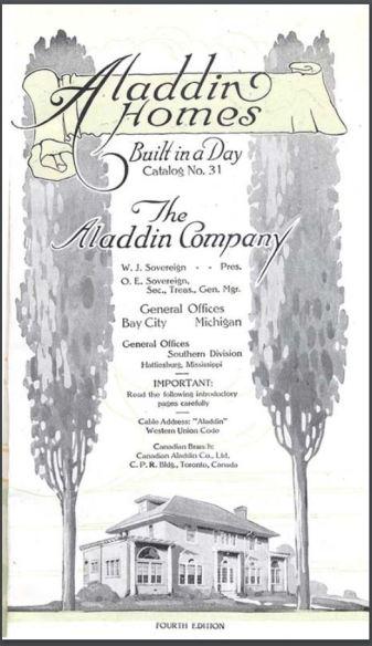 Aladdin Company Catalog Spring 1919 from Clarke Historical Library in Mt. Pleasant, Michigan