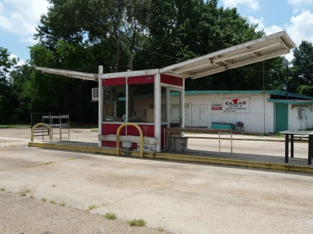 old Flowood service station. Flowood Mississippi E.L. Malvaney accessed from Flickr 8-22-17