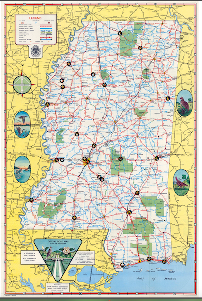 1964 Mississippi Green Book Locations
