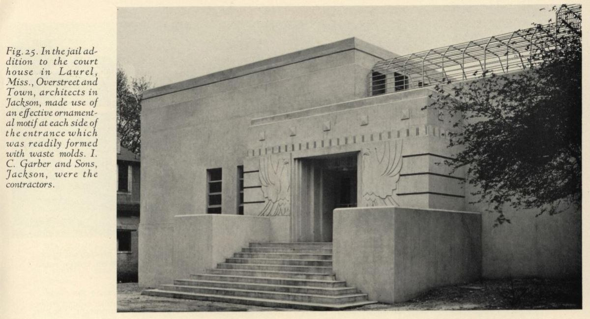 Overstreet Amp Town Concrete Buildings Preservation In