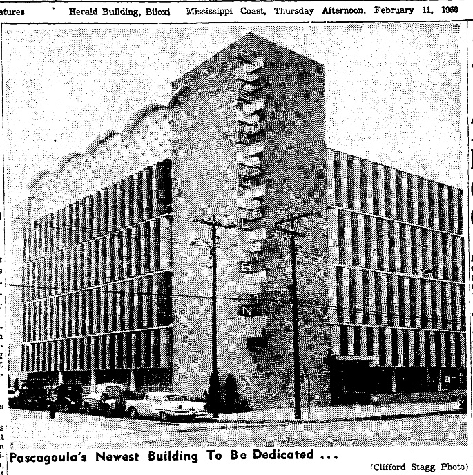 Newspaper Clippings: Wiring the Pascagoula-Moss Point Bank