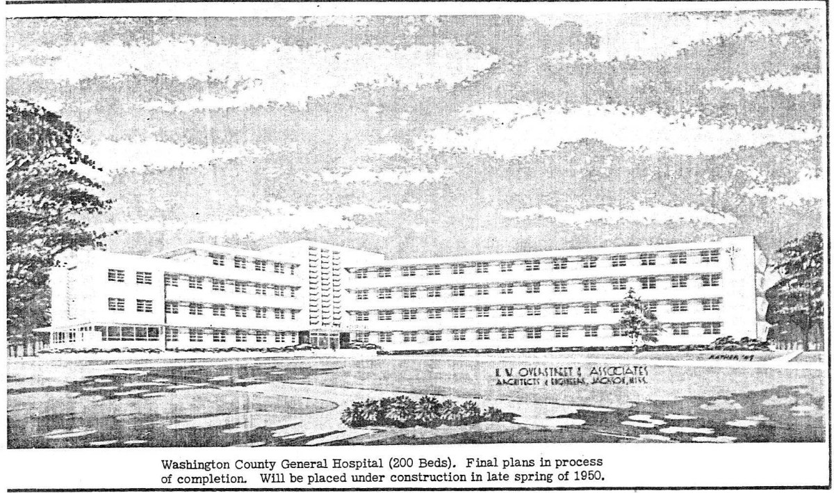 Hill-Burton Before and After: Washington County Hospital