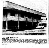 Biloxi Community Center from Biloxi Daily Herald May 30, 1968