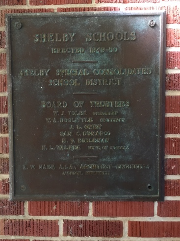 Shelby School. Shelby Bolivar County, MS