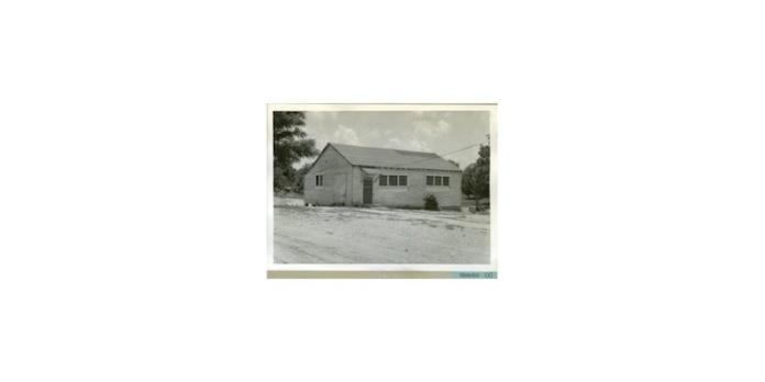 Edwards school, 1956. Source: Series 1513 Scrapbook, MDAH Digital Archives