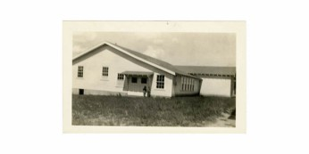 Magee Vocational Building rear elevation. Retrieved from Series 1894 School Photographs (Mississippi) 1920s-1980s.