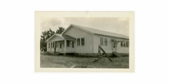 Magee Vocational Building front elevation. Retrieved from Series 1894 School Photographs (Mississippi) 1920s-1980s.