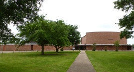 former Ocean Springs High School, Holcomb Avenue