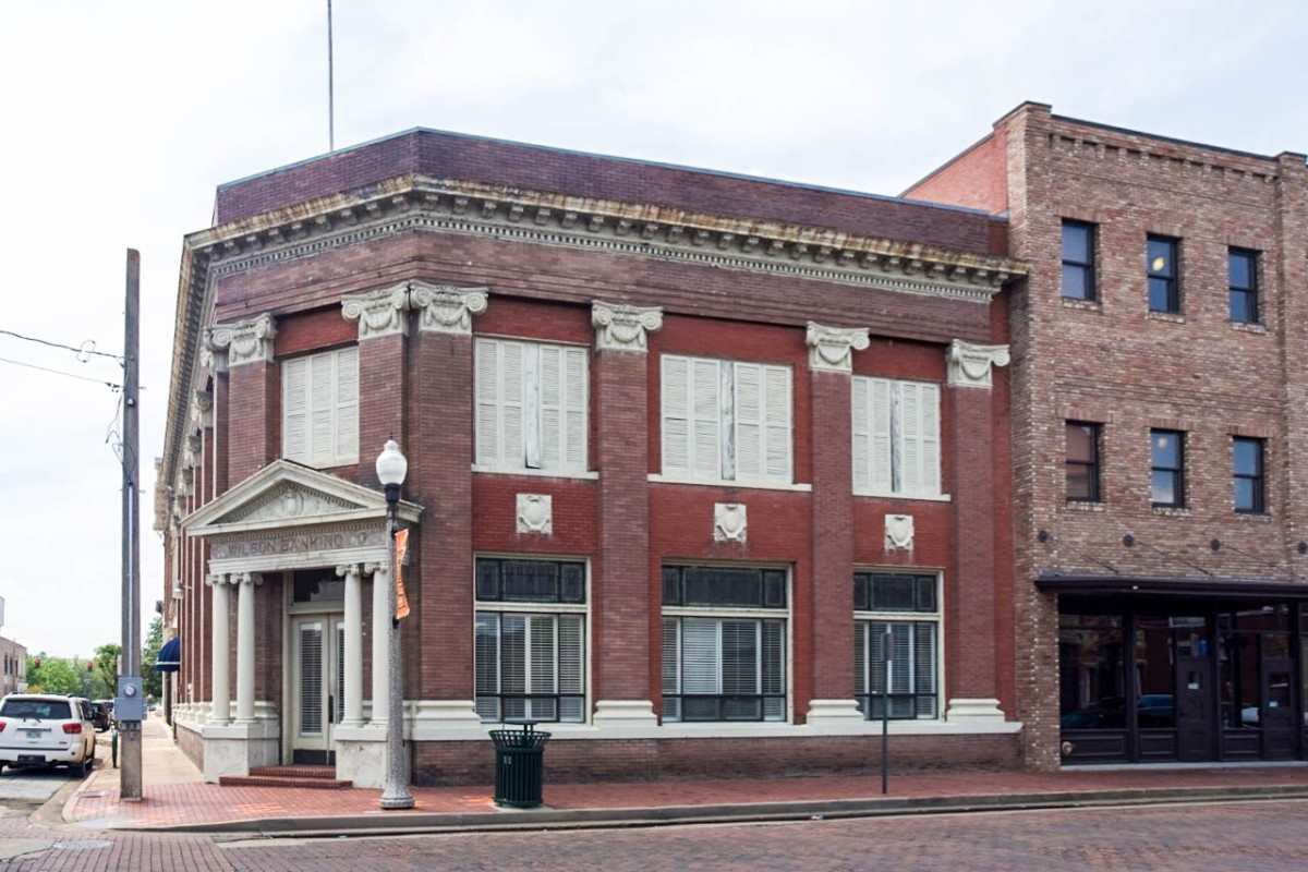Suzassippi's Mississippi: Wilson Banking Company of Greenwood