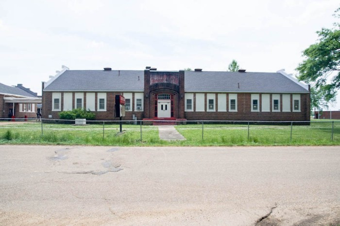 Itta Bena Grammar School full front elevation