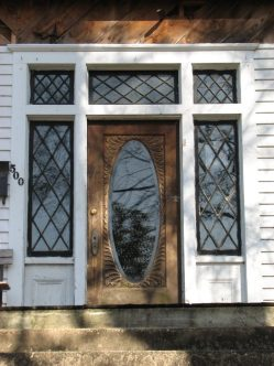 Lasky House, 500 S. Columbus St., Aberdeen, MS - Front Door; March 11, 2010; W. White, photographer
