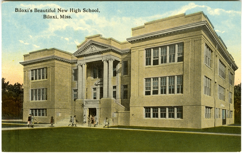 Central School Old Biloxi High School 1912 C 2000