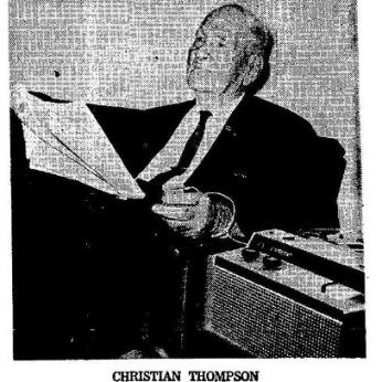 Christian Thompson from The Daily Herald (Biloxi, MS) 10-04-1966