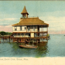 From Biloxi Yacht Club, Biloxi, Miss. Sysid 89990. Scanned as tiff in 2008/03/10 by MDAH. Credit: Courtesy of the Mississippi Department of Archives and History