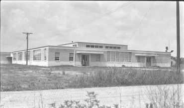 GW Carver High School, 1951; Courtesy MDAH Digital Archives Series 1894 School Building Photographs and Illustrations, 1929s-1950s