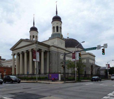Baltimore Cathedral (1806-1821, Benjamin Latrobe)