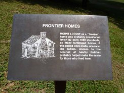 Mt. Locust (c.1775), Natchez Trace, Jefferson County
