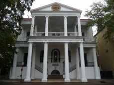 South Carolina Society Hall, 72 Meeting Street (1803-04, additions 1825, 1994)