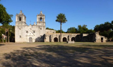 Mission Conception,, San Antonio, TX (dedicated 1755)