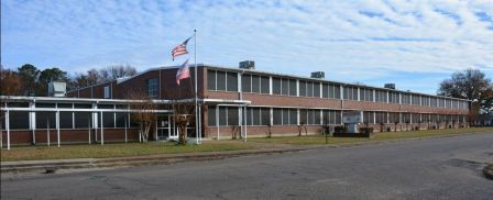 historic Hunt High School (Hunt Success Academy), photo by Jennifer Baughn, MDAH, Dec. 6, 2018