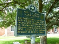 Amite County Courthouse (1839-1841)