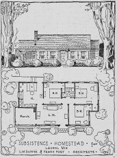 Laurel Homesteads (L.W. Duffee & Frank Fort, archts.)