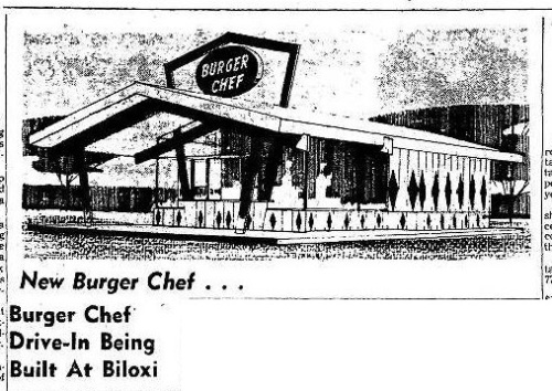 Biloxi Burger Chef 8-8-1963