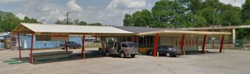 sw elevation Fmr Burger Chef N. Cook Ave. Laurel MS. from Google Streetview c2014
